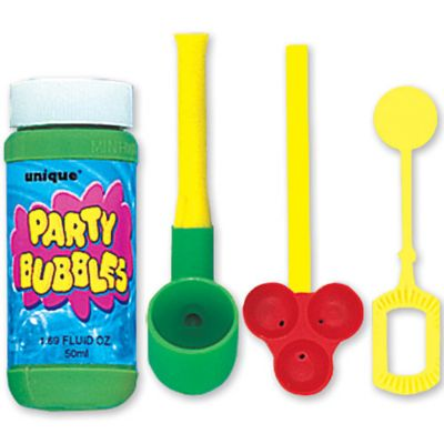 Bubble Pipe Set 3pc