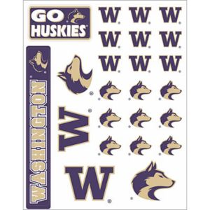 Washington Huskies Decals 18ct