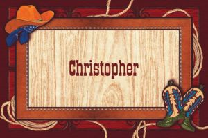 Custom Giddy Up Cowboy Western Thank You Notes