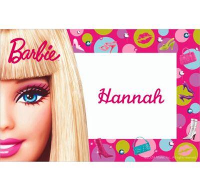 Barbie Custom Thank You Note