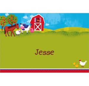 Custom Barnyard Thank You Notes