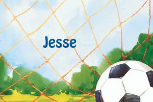 Custom Soccer Net Thank You Notes