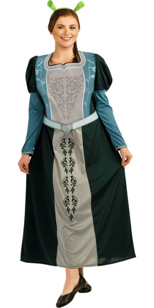 Adult Princess Fiona Costume Plus Size - Shrek Forever After