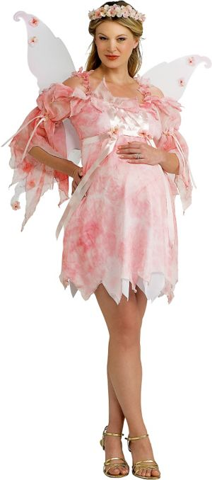Adult Fairy Maternity Costume Deluxe