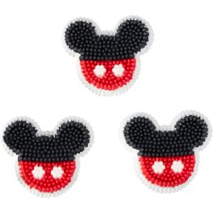 Wilton Mickey Mouse Icing Decorations 12ct