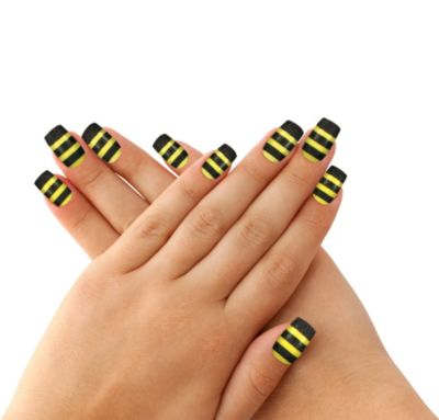 Fancy Bee Nails