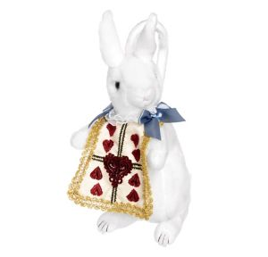 Wonderland Plush White Rabbit Handbag