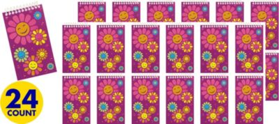 Daisy Notepads 24ct