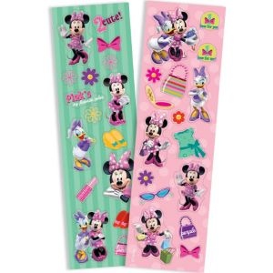 Minnie Mouse Sticker Strips 2 Sheets