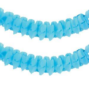 Caribbean Blue Paper Garland