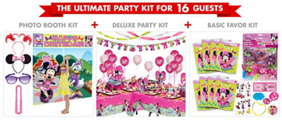 Minnie Mouse Party Supplies Ultimate Party Kit