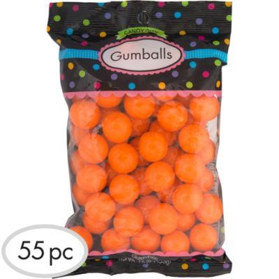 Orange Gumballs 55pc