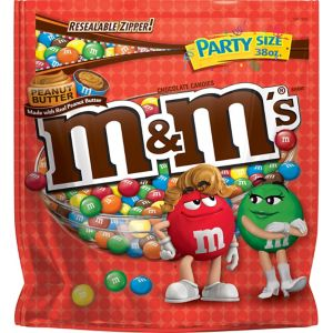 Milk Chocolate Peanut Butter M&M's Party Bag
