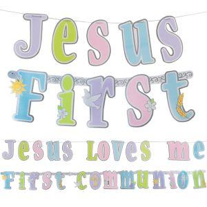 Communion Letter Banner