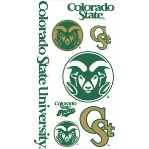 Colorado Buffaloes Tattoos 7ct