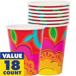 Caliente Fiesta Cups 18ct