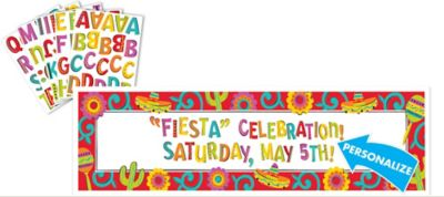 Personalized Fiesta Sign Banner
