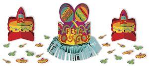 Fiesta Caliente Table Decorating Kit 23pc