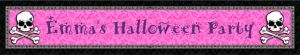 Custom Pretty in Pink Birthday Banner 6ft