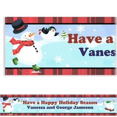 Holiday Fun Custom Christmas Banner
