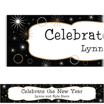 New Year's Gala Custom Banner