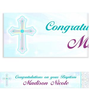 Custom Joyous Celebration Banner 6ft