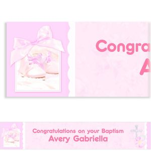 Custom Tiny Blessing Pink Banner 6ft