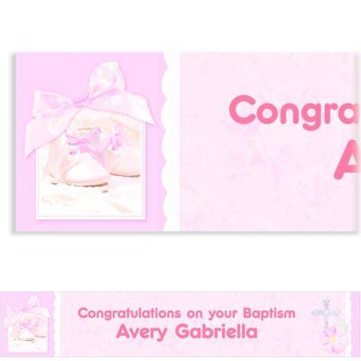 Tiny Blessing Pink Custom Banner