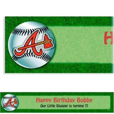 Atlanta Braves Custom Banner 6ft