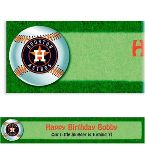 Custom Houston Astros Banner 6ft