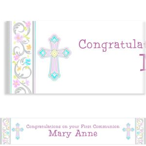 Custom Blessed Day Banner 6ft
