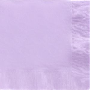Big Party Pack Lavender Dinner Napkins 50ct