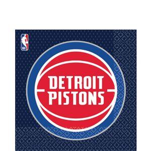 Detroit Pistons Lunch Napkins 16ct