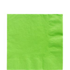 Kiwi Green Lunch Napkins 50ct