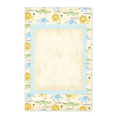 Boy Zoo Printable Baby Shower Invitations 25ct