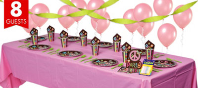 Hippie Chick Birthday Party Supplies Basic Party Kit