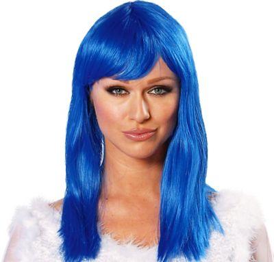 Eden Blue Premium Wig