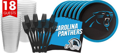 Carolina Panthers Basic Party Kit for 18 Guests