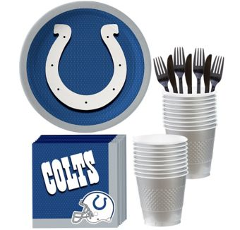 Indianapolis Colts Basic Party Kit for 18 Guests