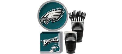 Philadelphia Eagles Basic Party Kit for 18 Guests