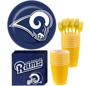 Los Angeles Rams Basic Party Kit for 18 Guests