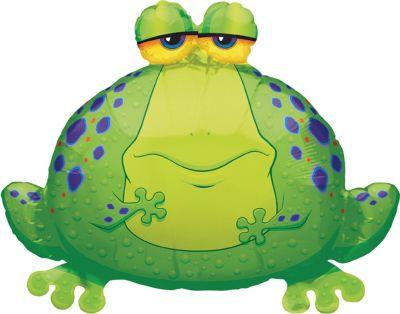 Foil Giant Bullfrog Balloon 30in