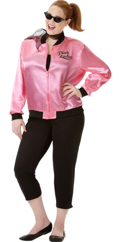 Adult Greaser Babe Costume Plus Size