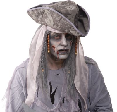 Pirate Zombie Wig