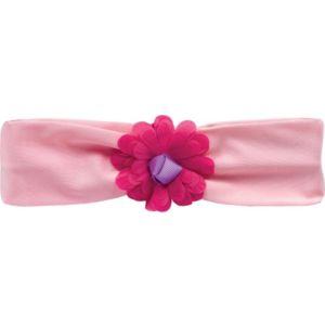 Pink Tulle Flower Headband