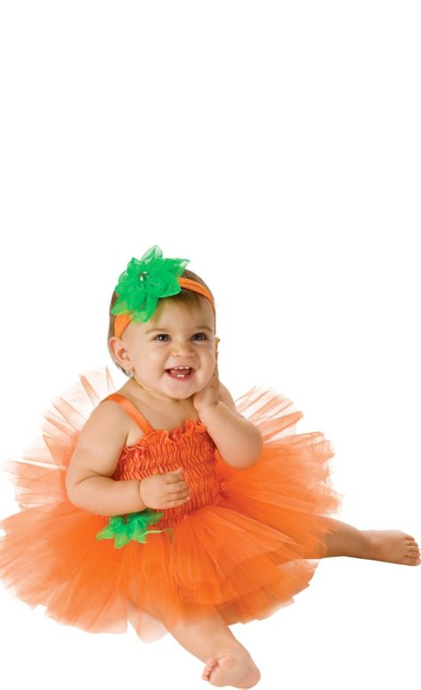 Girly Pumpkin Costume Baby Pumpkin Costume