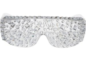 Jeweled Lady Gaga Glasses