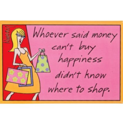 Happiness and Shopping Magnet