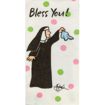 Bless You Nun Facial Tissues 10ct