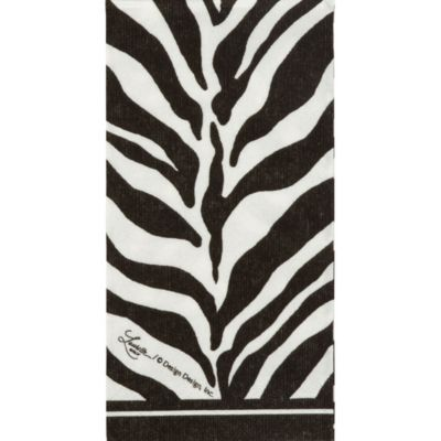 Zebra Print Facial Tissues 10ct